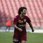 În ultimul meci test dintre CFR şi Gaz Metan Mediaş,   Gabioneta a marcat două goluri / sursa foto: cfr1907.ro