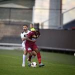 Fotbaliştii de la CFR au fost mereu puşi sub presiune de cei de la Gaz Metan Mediaş care s-au impus la final cu 2-0 administrând prima înfrângere feroviarilor după şase etape