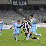 """Valentin Lemnaru (foto,   în alb şi negru) a marcat cinci goluri în ultimele 3 meciuri pentru """"U"""" / Foto: Dan Bodea"""