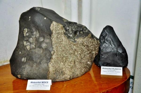 Bucata cea mai mare din meteprit cântărește 35,  7 kilograme/ Foto: Septimiu Avram