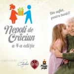 """""""Nepoții de Crăciun"""" fac sărbătorile mai frumoase pentru 1000 de bătrânei clujeni"""