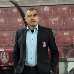 """Petre Grigoraş şi-a dat """"întâlnire în familie"""" cu fiul său Alexandru,   cu ocazia meciului CFR - Săgeata"""