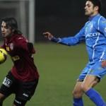 Rui Pedro (foto,   în vişiniu) nu a reuşit să marcheze în partida cu FC Botoşani dar,   se poate revanşa,   miercuri,   în meciul cu Poli Timişoara / Foto: Dan Bodea