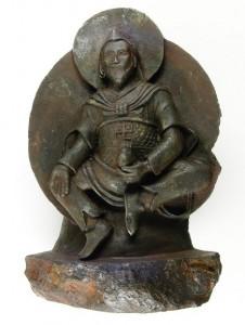 Omul de Fier,   sculptat dintr-un meteorit