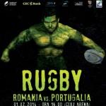 Echipa naţională de rugby a României va susţine primul meci pe Cluj Arena,   în 1 februarie,   în compania Portugaliei,   în Cupa Europeană a Naţiunilor