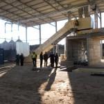 FOTO/Noua rampă de gunoaie a Clujului,   70% gata. Prefectul invocă greşeli de proiectare