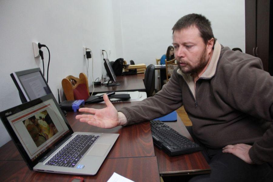 András Szilárd,   este coordonatorul naţional al proiectului PRIMAS/Foto: Dan Bodea
