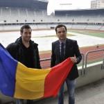 Român cu acte Maxilian Nicu (foto,   în stânga) va juca primele meciuri în Liga I la 31 de ani,   în tricoul Universităţii Cluj / Foto: Dan Bodea
