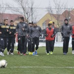 Fotbaliştii Universităţii Cluj au picat primul test amical din cantonamentul din Turcia,   scor 0-2,   cu Cernomoreţ Odesa / FOTO: Dan Bodea