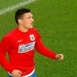 Claudiu Keseru a debutat oficial la Steaua, în amicalul cu Nurenberg, pierdut de roş-albaştrii cu 1-5