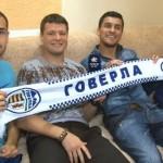 Cristian Oros, Marius Niculae, Alexandru Dandea şi Răzvan Cociş sunt cei patru români de la Hoverla Ujgorod, lor li se va adăuga în curând fostul CFR-ist Gabriel Tamaş