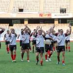 Rugbiştii de la Universitatea Cluj au şansa de a disputa finala Cupei României, acasă, pe Cluj Arena, a stabilit Biroul Federal al FRR / FOTO: Dan Bodea