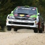 Simone Tempestini ia pulsul macadamului pentru etapa din Campionatul Naţional de Raliuri al României,   Delta Rally