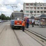 """Staţia de tramvai """"Termorom"""" se mută"""