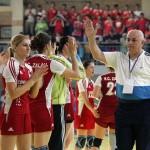 Conduse excelent de pe margine de Gheorghe Tadici handbalistele de la HC Zalău au obţinut o victorie importantă la Deva,   scor 27-26