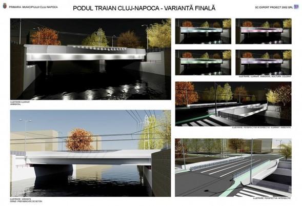 Proiectul noului Pod Traian