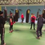 Rugbyştii de la Universitatea Cluj au luat lecţii de box de la antrenorul Hercz Josej