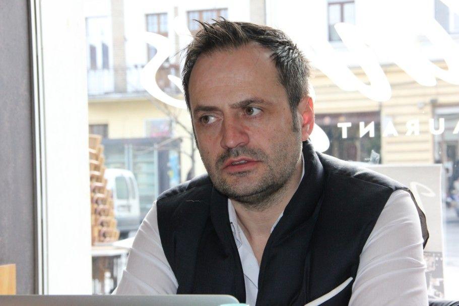 Virgil Ştefan,   unul dintre organizatorii Holi Festival/Foto: Dan Bodea