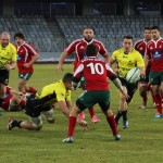 Pe 1 februarie rugbyştii români au trecut fără probleme, scor 24-0, de Portugalia, pe Cluj Arena, sâmbătă, 22 februarie, pe acelaşi stadion Stejarii pot obţine matematic calificarea la Cupa Mondială din Anglia / FOTO> Dan Bodea