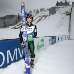 Săritorul cu schiurile Sorin Iulian Pîtea este unul dintre cei patru sportivi români care debutează sâmbătă la JO de la Soci