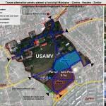Grupul de inițiativă cetățenească S.O.S. propune deschiderea campusului USAMV pentru biciclişti şi pietoni