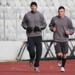 """""""Studenţii"""" nu mai aleargă în zadar,   au obţinut primul egal în amicalele din Turcia,   0-0,   cu Radnicki Nis / FOTO: Dan Bodea"""