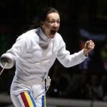 Ana Maria Brânză a obţinut la Budapesta,   prima victorie de etapă,   în 2014,   în Cupa Mondială