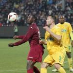 CFR Cluj şi FC Vaslui au terminat la egalitate,   scor 0-0,   primul eci oficial din 2014 / FOTO: Dan Bodea