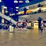 """(P) Inima """"I Love Cluj"""",   folosită pentru promovarea orașului"""
