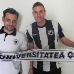 Rodrigo Braga Menezes este ultima achiziţie a clubului Universitatea Cluj / sursa foto: universitateacluj.ro