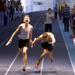 Atletul clujean Zeno Moraru a cucerit două titluri de campion la naţionalele destinate juniorilor 1 de la Bucureşti / sursa foto: facebook.com
