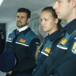 FOTO/ Cadú a fost poliţist pentru o zi