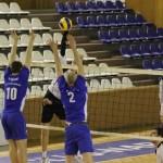 Voleibaliştii de la Universitatea Cluj continuă seria rezultatelor slabe,   fiind învinsă categoric la Galaţi,   de echipa locală Arcada,   cu 3-0 la seturi / FOTO: Dan Bodea (arhivă)