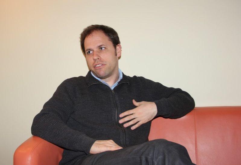 Fabian Mühlthaler,   directorul Centrului Cultural German din Cluj-Napoca/Foto: Dan Bodea