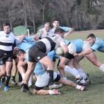 Rugbyştii de la Universitatea Cluj au obţinut primul succes al anului,   scor 26-24,   în faţa vicecampionilor României,   CSM Ştiinţa Baia Mare / FOTO: Dan Bodea