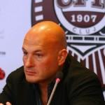 Paszkany Arpad a mărturisit în exclusivitate pentru Transilvania Reporter că nu are forţa financiară să cumpere drepturile TV din Liga I de fotbal / FOTO: Dan Bodea