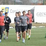 Fotbaliştii Universităţii Cluj vor disputa,   joi,   un amical cu FC Zalău,   pe terenul din baza sportivă Clujana / FOTO: Dan Bodea