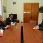 Comisarul european pentru agricultură,   Dacian Cioloș s-a întâlnit cu prefectul și primarii din județ