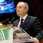 Emil Boc a susţinut Clujul Capitală Europeană a Tineretului la Strasbourg