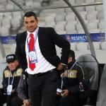 Ionel Ganea este, cel puţin în acte, din nou antrenorul Universităţii Cluj, după ce Curtea de Apel Cluj a anulat decizia de reziliere a contractului său / FOTO: Dan Bodea