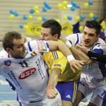 Potaissa Turda a fost eliminată de HCM Constanţa,   în asferturile Cupei României la handbal masculin,   iar Minaur Baia Mare de HC Vaslui