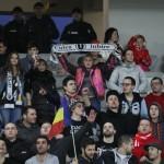 Din cauza scandărilor xenofobe ale suporterilor Universitatea Cluj a fost amendată de FRF cu 30.000 de lei / FOTO: Dan Bodea