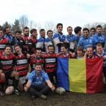 Rugbyştii de la CS Mănăştur s-a impus cu 37-0 în deplasare la Lions Arad şi au obţinut primul succes de la înfiinţarea echipei / FOTO: Dan Bodea