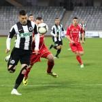 """Dubla din meciul cu FC Botoşani,   câştigat de """"U"""" Cluj cu 2-1,   l-a dus pe Vali Lemnaru în fruntea golgheterilor Ligii I / FOTO: Dan Bodea"""