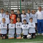 Juniorii de la FC Bihor 2001 au învins cu 2-0 pe AS Viitorul Gherla şi au câştigat etapa zonală a Cupei Hagi Danone / FOTO: Dan Bodea
