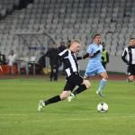 Lorand Kovacs a alergat mult în meciul cu Săgeata dar nu a mai reuşit să marcheze aşa cum o făcea în meciul tur,   de pe Cluj Arena / FOTO: Dan Bodea