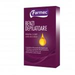 Noi produse pentru depilare de la Farmec:  Benzile depilatoare cu ceară albă și argan pentru fața și corp