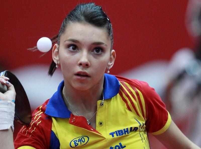 美人卓球選手