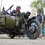 Motoare legendare expuse în parc