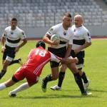 """În sezonul trecut rugbyştii de la """"U"""" au învins de trei ori pe Dinamo,   în patru meciuri oficiale,   duminică cele două rivale se întâlnesc din nou pe Cluj Arena,   în derby-ul tuturor timpurilor în rugby-ul românesc / FOTO: Dan Bodea"""